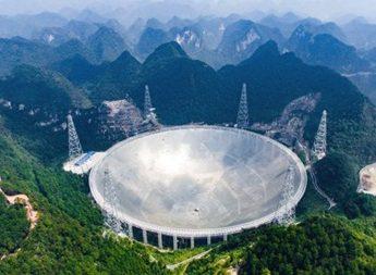 Китай запустил крупнейший в мире радиотелескоп